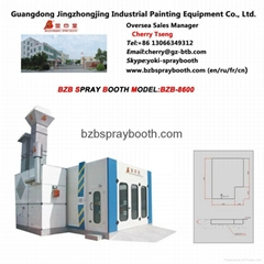Water Paint Spray Booth BZB-8600