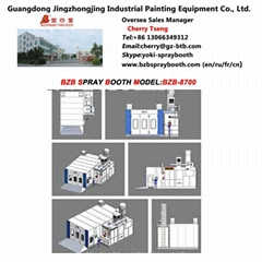 Water Painting Solution Spray Booth Without No Pump