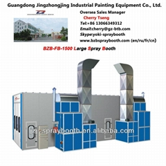 Bus Spray Booth for 15000*5000*5000mm