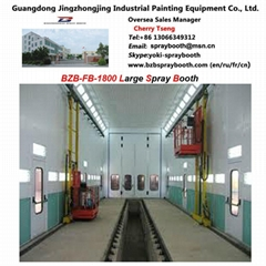 Bus Spray Booth for 18000*5000*5000mm