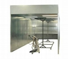 Powder Spray Booth and Powder Coating Spray Booth