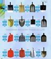 All kinds of Steel shovel and shovel head