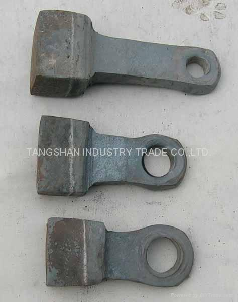 The hammer type fitting of crusher