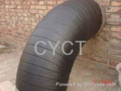 Heat Shrinkable Wraparound Tape for Pipe Bends
