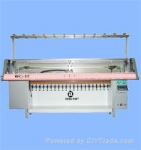 Flat Collar Knitting Machine