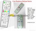 replace wateproof lcd tv remote control mirror tv konic  konci