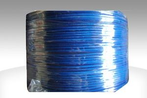 pvc coated galvanized wire rope(6x7,7x7) 1