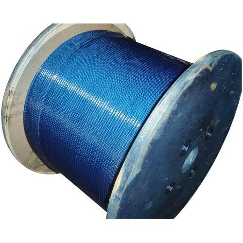 pvc coated galvanized wire rope(6x7,7x7) 2