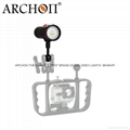 Archon Diving Torch Scuba Dive Video Light  W40VR Diving flashlight