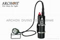 ARCHON WH46/DH40 Scuba Canister Diving Light Dive Lamp Diving Torch 150M