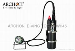 ARCHON 奥瞳 DH40 分体式潜水手电筒