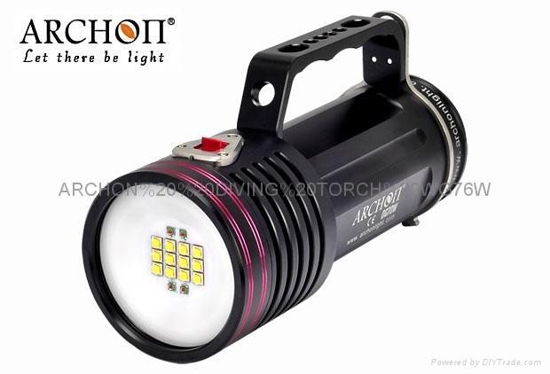ARCHON奥瞳D100W-II潜水摄影补光灯 1