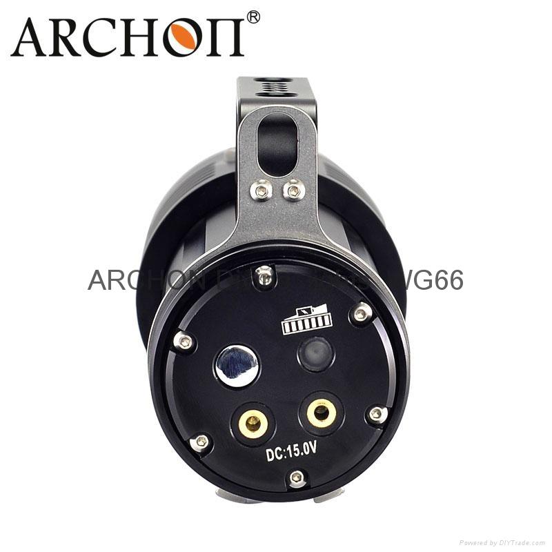 ARCHON奥瞳DG60专业潜水手电筒 3