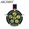 ARCHON奧瞳DG60專業潛水手電筒 1