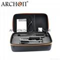 ARCHON奧瞳DG60專業潛水手電筒 5