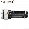 ARCHON奧瞳DG60專業潛水手電筒 4