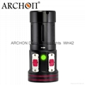 ARCHON W42VR Diving Light Diving video Light Diving lamp Diving torch(CE&RoHS)