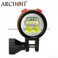 Archon奧瞳專業潛水手電筒 D35VP 聚光+散光 多用途 潛水攝影 video  拍照 2