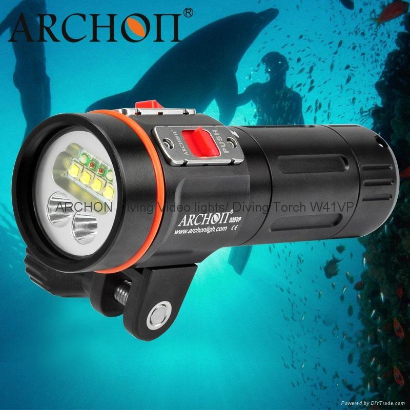 Archon奧瞳專業潛水手電筒 D35VP 聚光+散光 多用途 潛水攝影 video  拍照 1