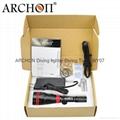 ARCHON奥瞳 DY01潜水手电筒 强光 远射 专业潜水灯 电筒 1000流明 100米  4