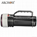 Archon diving light WG150W led diving torch 10000 Lumens Diving Video Light