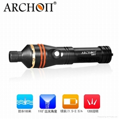 ARCHON奥瞳新款D11V-II潜水摄影补光灯 配微距束光