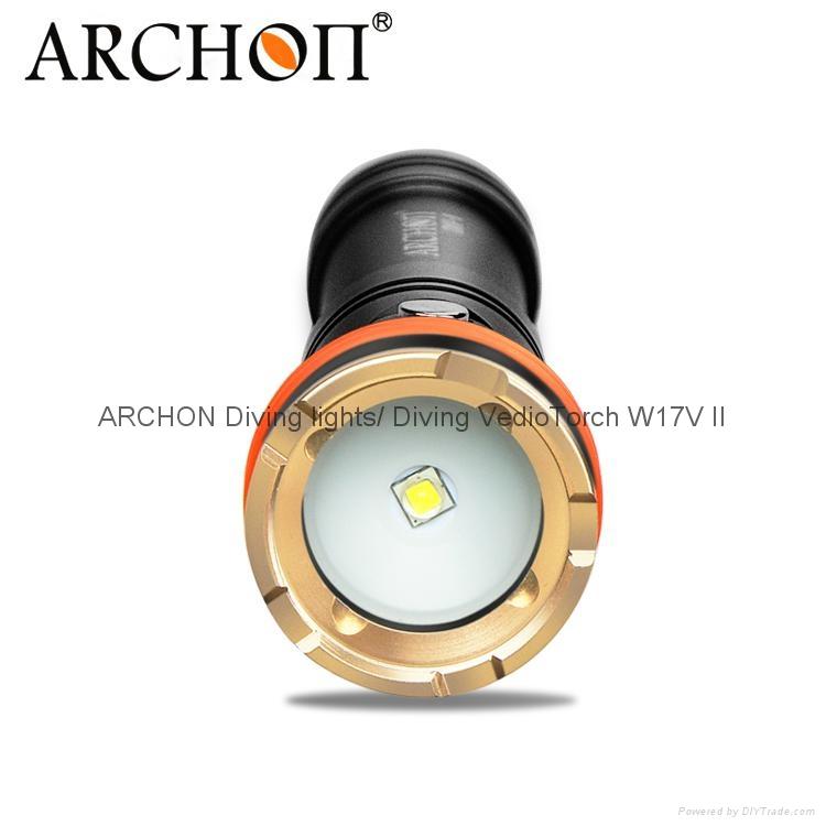 ARCHON奥瞳新款D11V-II潜水摄影补光灯 配微距束光筒