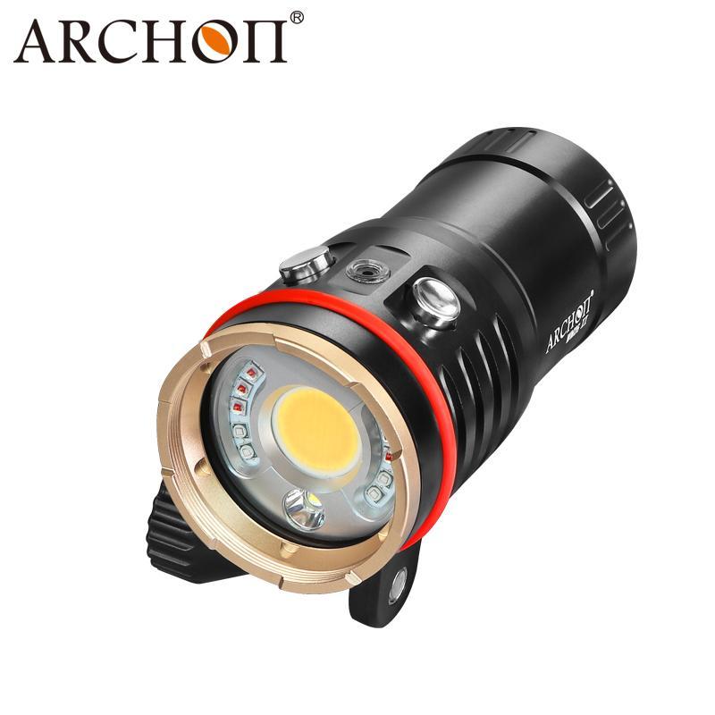 ARCHON奥瞳DM20-II专业潜水手电筒摄影摄像补光灯微距束光筒 3
