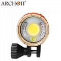 ARCHON奥瞳DM20-II专业潜水手电筒摄影摄像补光灯微距束光筒 2