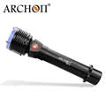 ARCHON奥瞳D22-II专业潜水手电筒按钮式1200流明续航4小时 3