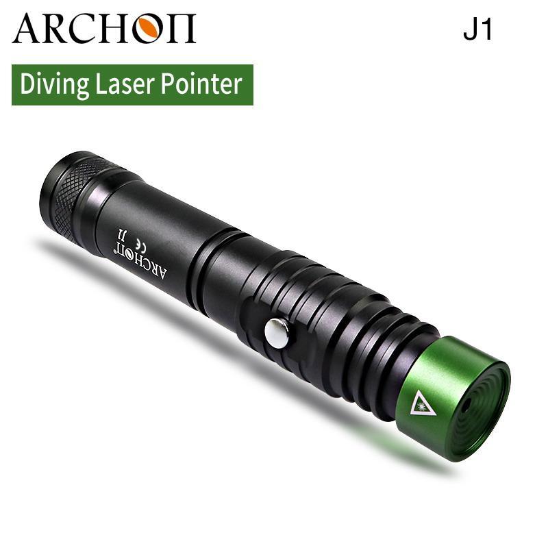 ARCHON奥瞳J1潜水绿激光手电筒 1W激光笔  射程大于500米 4