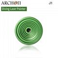 Archon Diving Torch Scuba Diving Laser Pointer  Light J1 Diving Flashlight 2