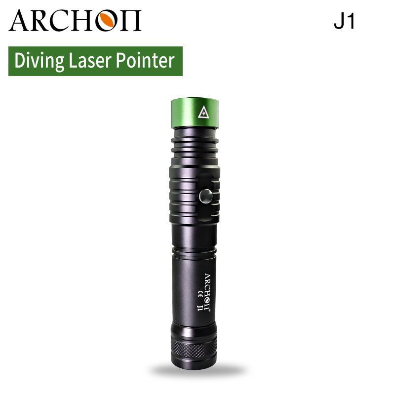 ARCHON奥瞳J1潜水绿激光手电筒 1W激光笔  射程大于500米 5