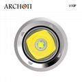 ARCHON奥瞳V10P专业潜水手电筒 21700锂电池 USB快速充电 100米潜水设备 2
