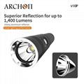 ARCHON奥瞳V10P专业潜水手电筒 21700锂电池 USB快速充电 100米潜水设备 4