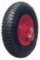 Pneumatic Wheel: PR1411 (14 X 3.50-8)