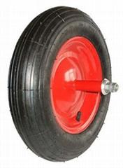 Pneumatic Tire: PR1408-1 (14 X 3.50-8)