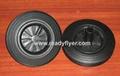 Wheelie bin wheel