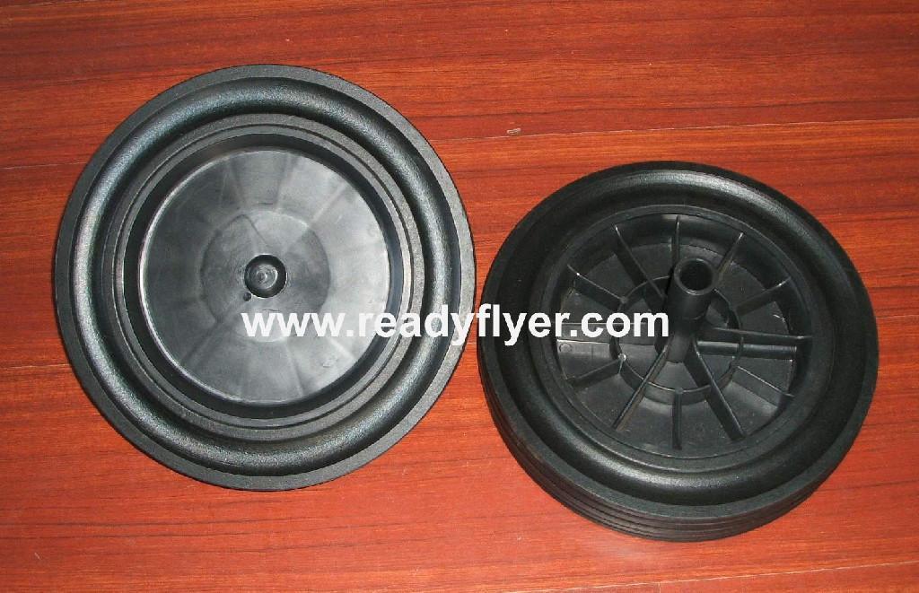 300mm Dustbin wheel  1