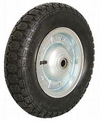 Pneumatic Tyre,Air wheel,Rubbe wheel,Barrow wheel: PR1400 (14 X 3.50-7)
