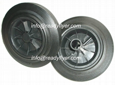 200mm wheelie bin wheel
