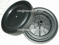 300mm waste bin wheel