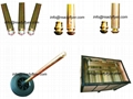 wheelie bin axle / hollow axle / solid axle 1