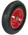 Pneumatic Wheel: PR1601 (16 X 4.00-8)