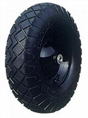 Pneumatic Wheel: PR1610 (16 X 4.00-8)