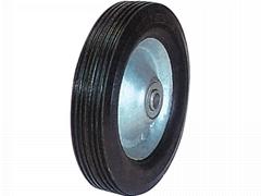 "Solid Wheel for hand trolley: SR0802 (8"" x 1.75"")"