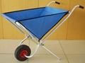 Fold-Away Garden Wheelbarrow/Folding