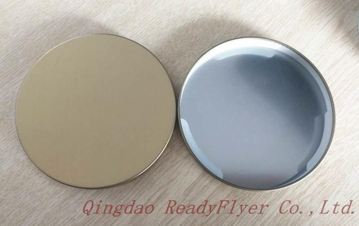 Dia 106mm lids with printed logo for 14oz essential oil candle 2