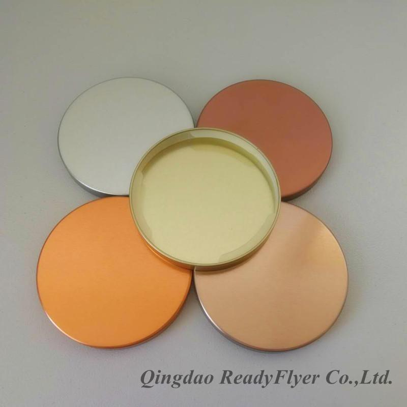 Dia 79mm lids made by tinplate for essential oil candle