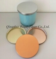 Dia 106mm lids made by tinplate for scented jar candle